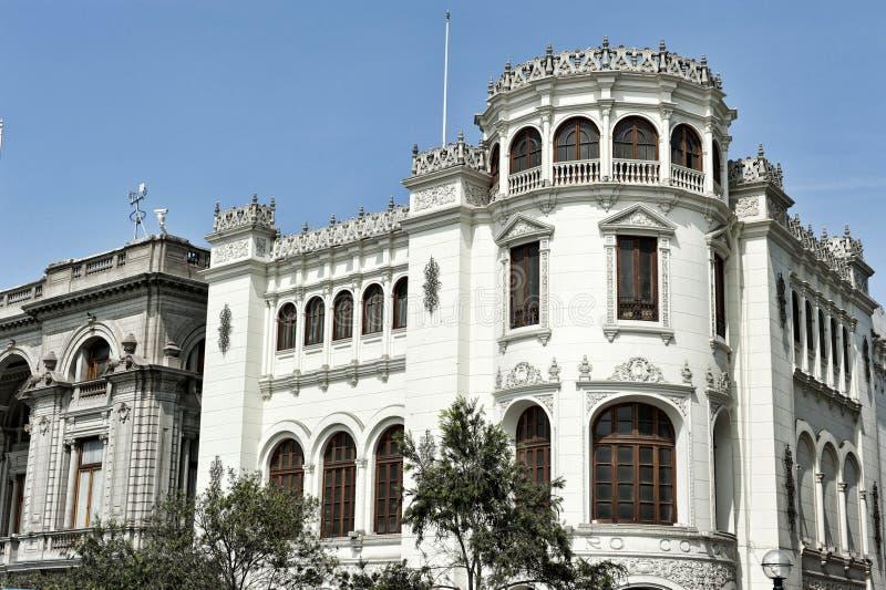 Pervuainarchitectuur royalty-vrije stock foto