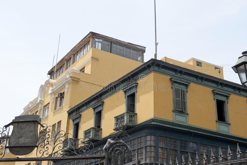 Pervuainarchitectuur in openlucht royalty-vrije stock afbeelding