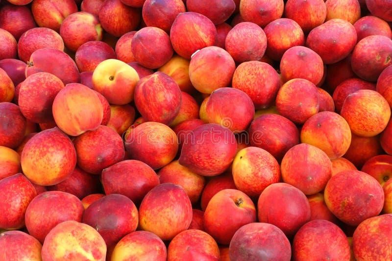perziken stock afbeelding