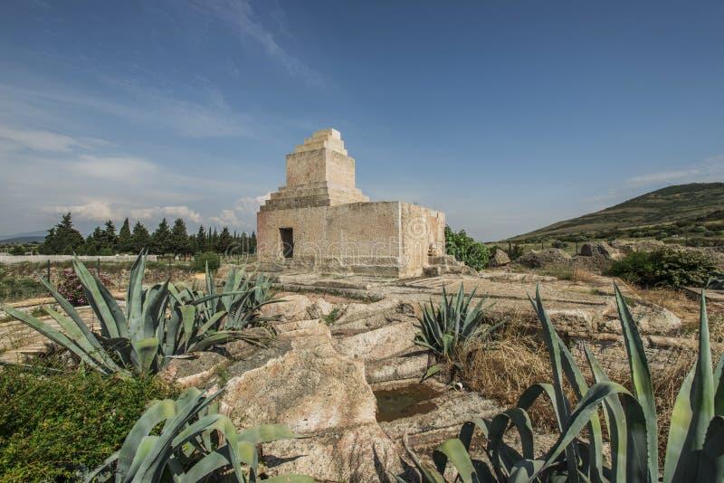 Perzisch Monumentaal Graf, Izmir stock fotografie