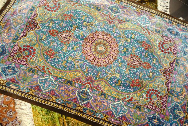 Perzisch tapijt stock afbeelding