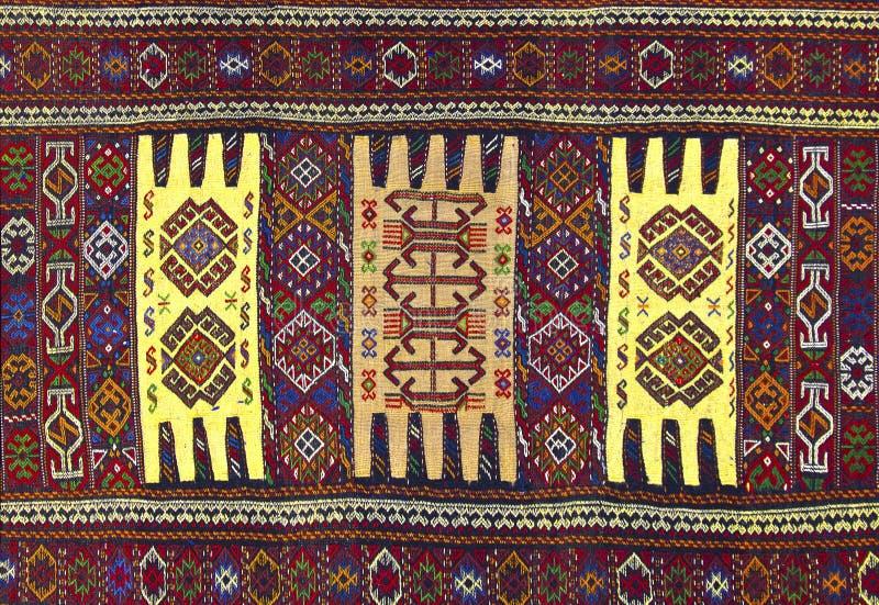 Perzisch tapijt stock afbeeldingen