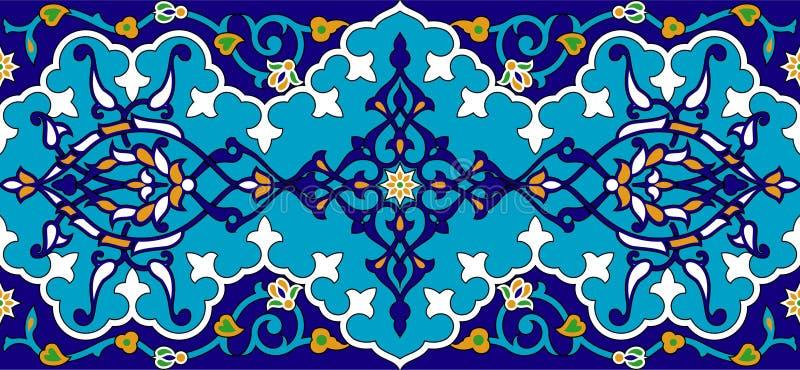Perzische dekking vector illustratie