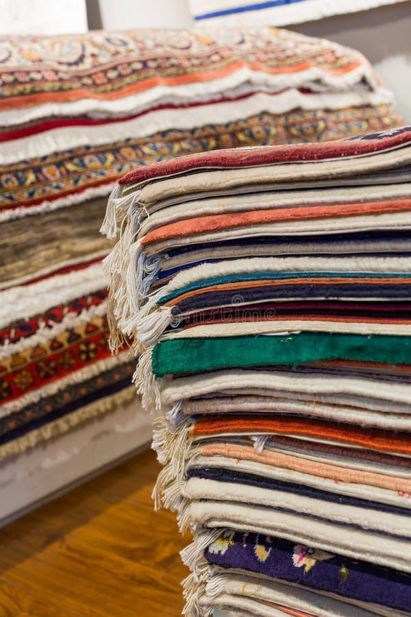 Perzische tapijten royalty-vrije stock afbeeldingen