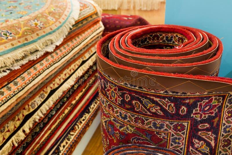 Perzische tapijten royalty-vrije stock foto's