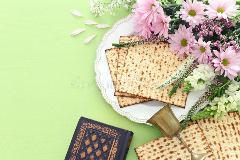 Pesah庆祝概念犹太逾越节假日 免版税库存照片