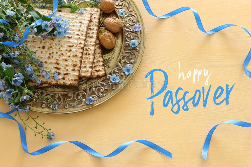 Pesah świętowania pojęcia Passover żydowski wakacje zdjęcia stock