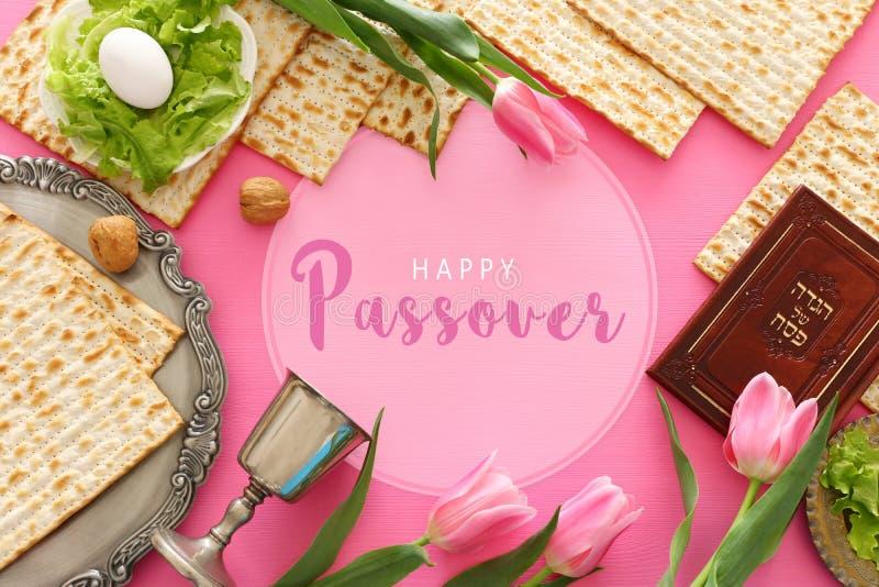 Pesah świętowania pojęcia Passover żydowski wakacje obraz stock