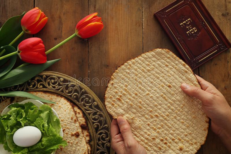 Pesah świętowania pojęcia Passover żydowski wakacje fotografia stock