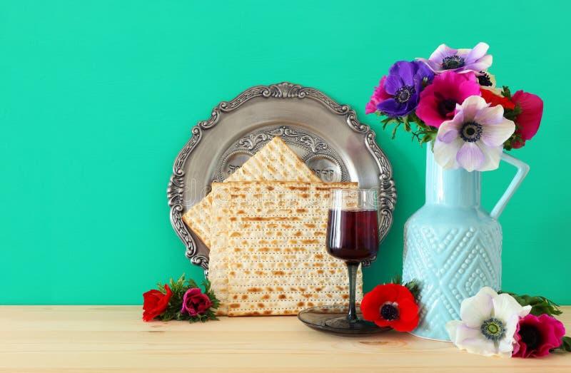 Pesah świętowania pojęcie & x28; żydowski Passover wakacje fotografia royalty free