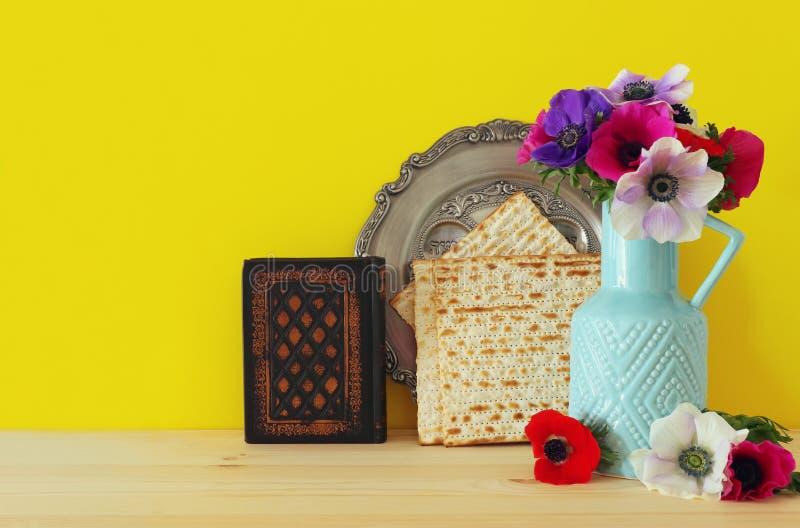 Pesah świętowania pojęcie & x28; żydowski Passover wakacje zdjęcie stock