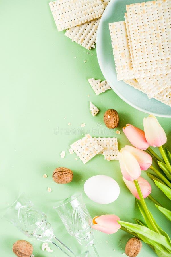 Pesah, żydowski Passover wakacje tło obrazy stock