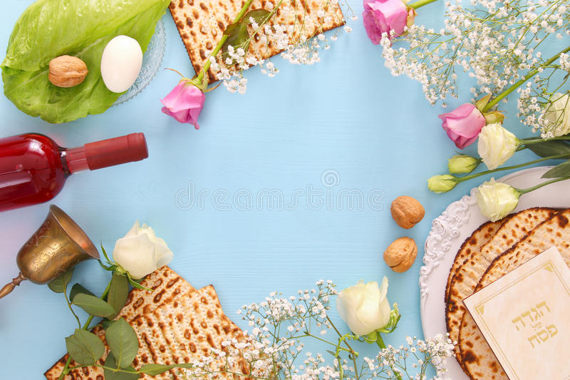 Pesah celebration concept & x28;jewish Passover holiday& x29; royalty free stock photography