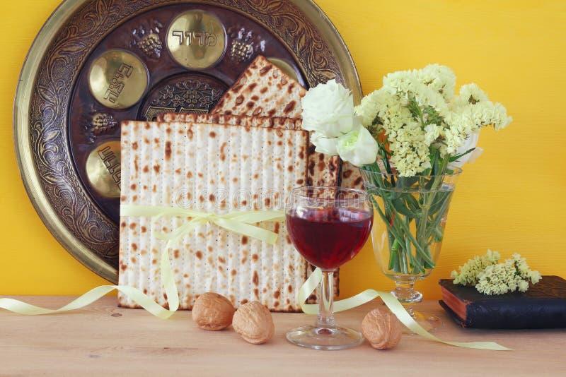 Pesah celebration concept & x28;jewish Passover holiday& x29;.  stock photography
