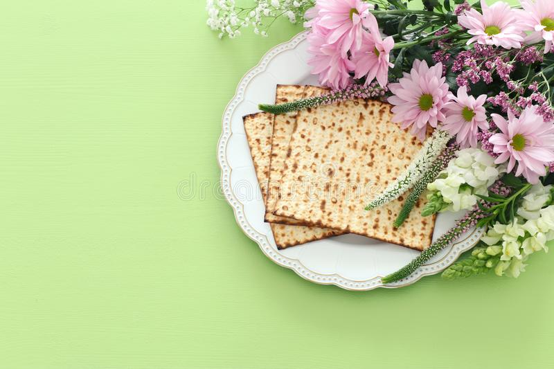 Pesah-Feierkonzept jüdischer Passahfestfeiertag lizenzfreie stockfotografie