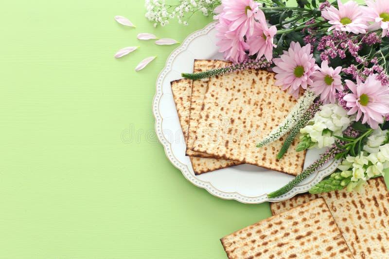 Pesah-Feierkonzept jüdischer Passahfestfeiertag stockbilder