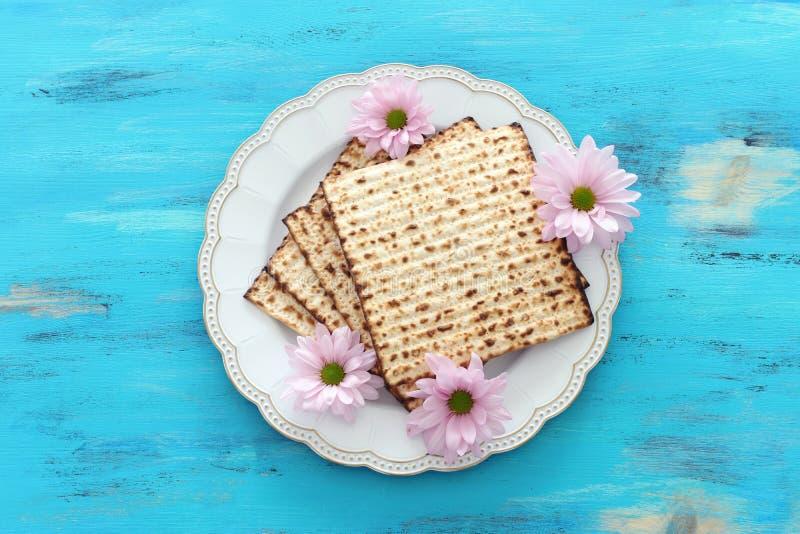 Pesah-Feierkonzept jüdischer Passahfestfeiertag lizenzfreies stockbild