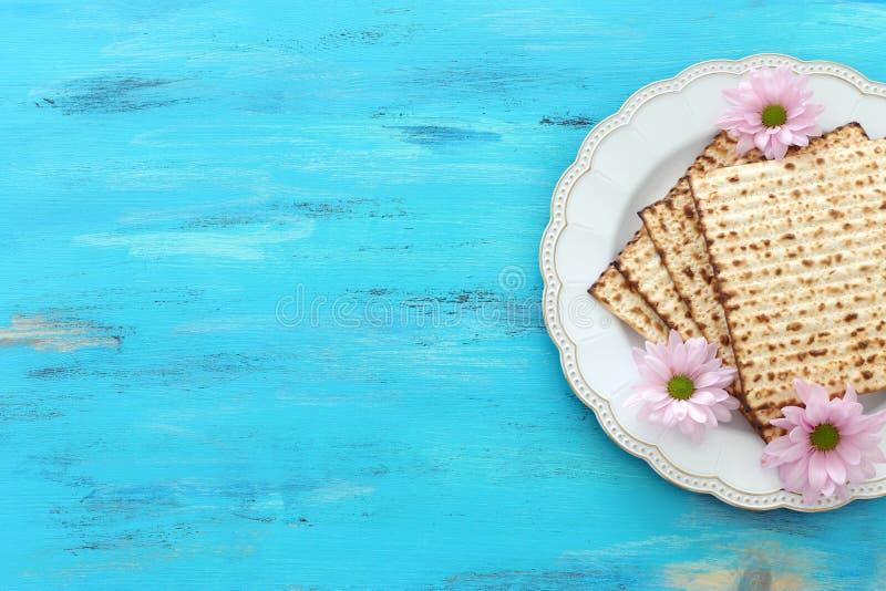 Pesah-Feierkonzept jüdischer Passahfestfeiertag lizenzfreie stockbilder