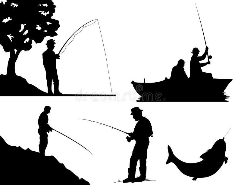 Pesca ilustración del vector