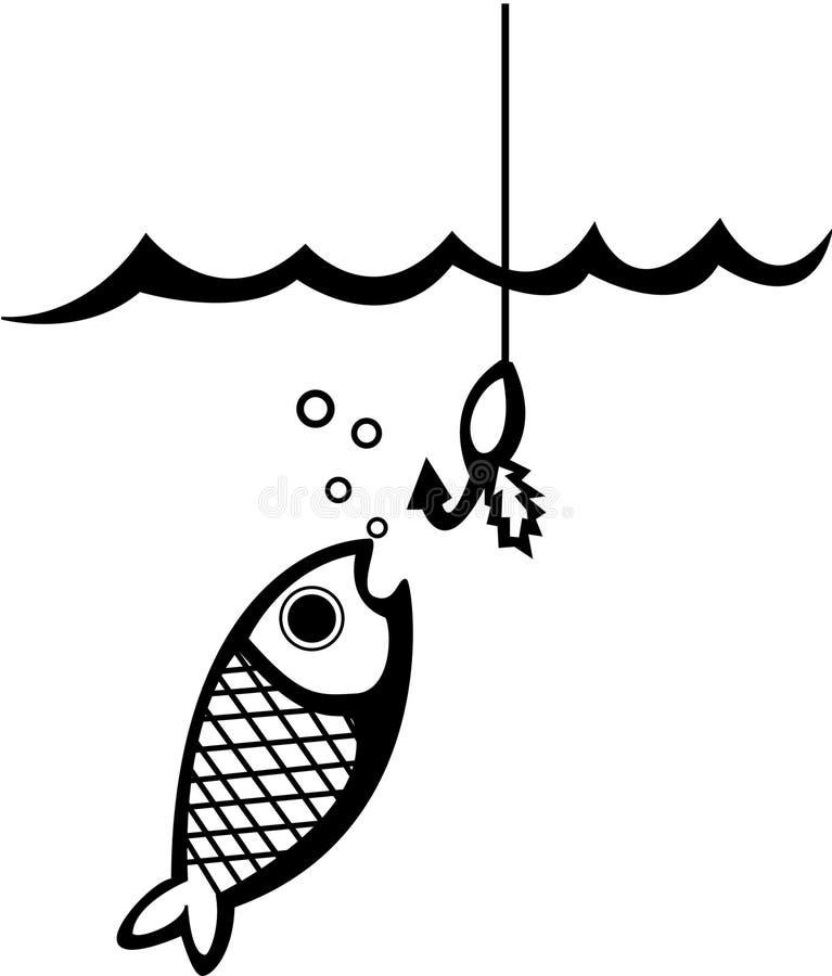 Pesca ilustração do vetor