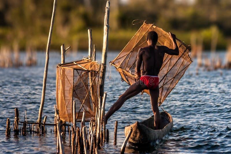 Pesca acrobatica fotografia stock libera da diritti