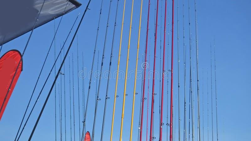 Pesca com mosca Ros Shanes castelo jogo Antrim 1? de junho de 2019 justo fotografia de stock