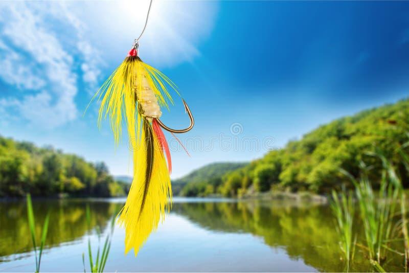 Pesca con mosca fotos de archivo libres de regalías