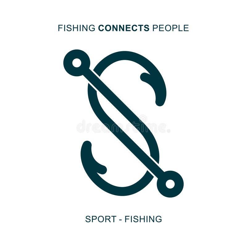 A pesca conecta povos fotografia de stock