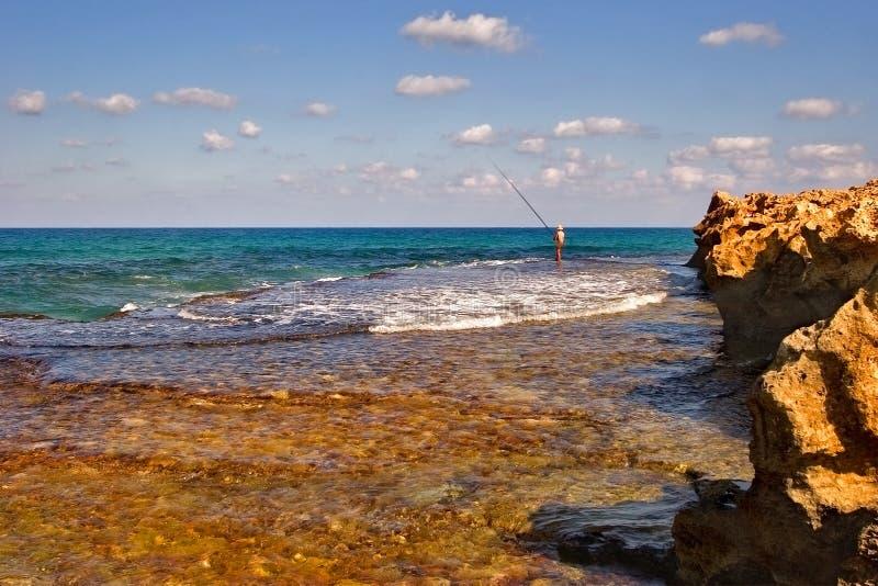 Pesca Da Manhã Fotos de Stock