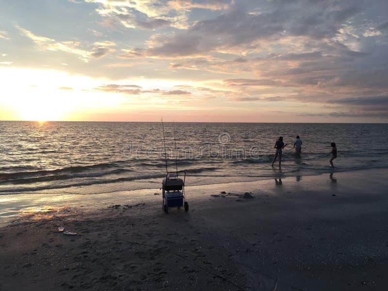 Pesca de la Florida del sudoeste fotografía de archivo