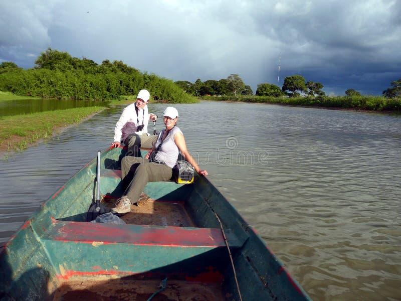 Pesca de la gente imagen de archivo libre de regalías