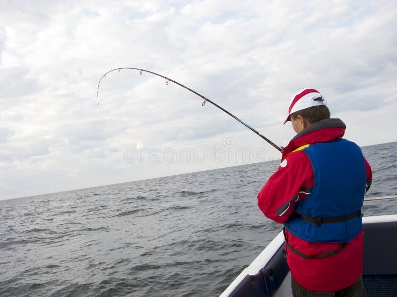 Pesca de mar. imagem de stock royalty free