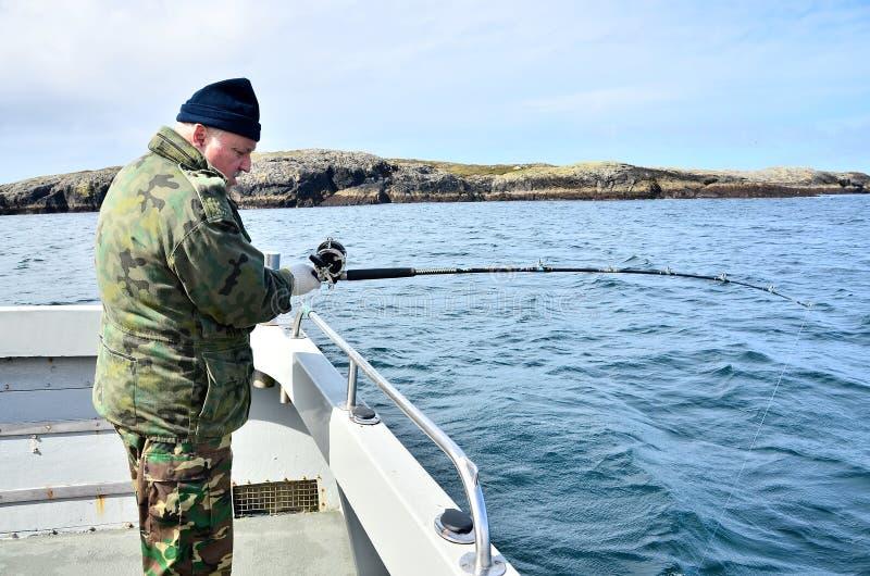 Pesca de mar profundo foto de stock royalty free