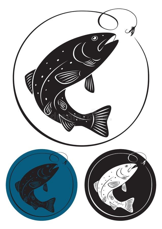 Pesca de mosca libre illustration