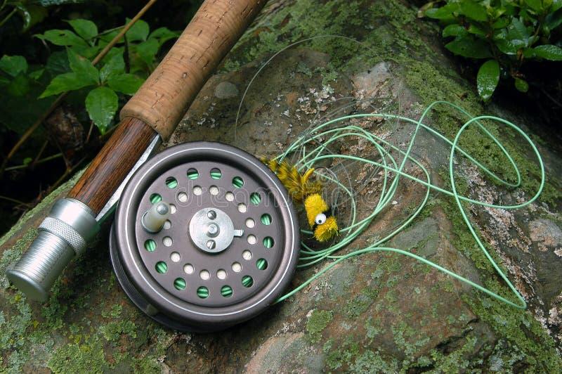 Pesca de mosca II fotos de stock royalty free