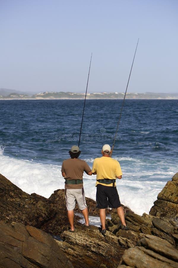 Pesca de ressaca foto de stock