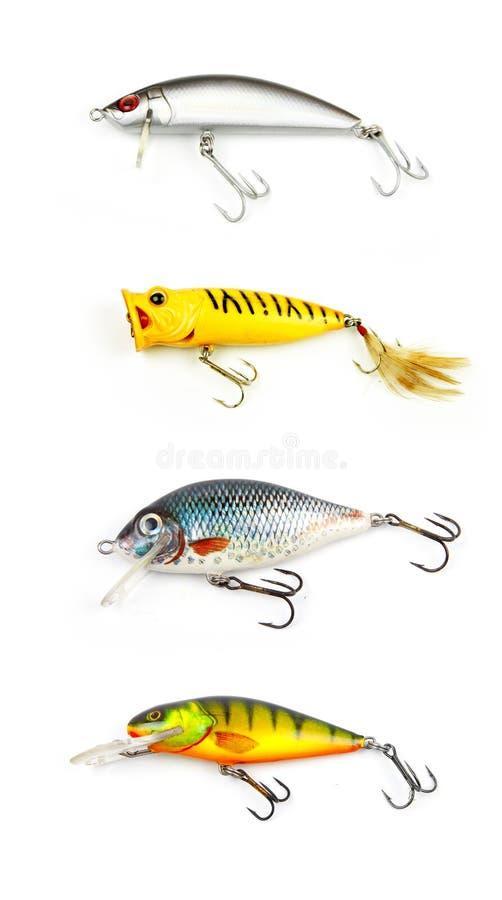 Pesca de señuelos imagenes de archivo