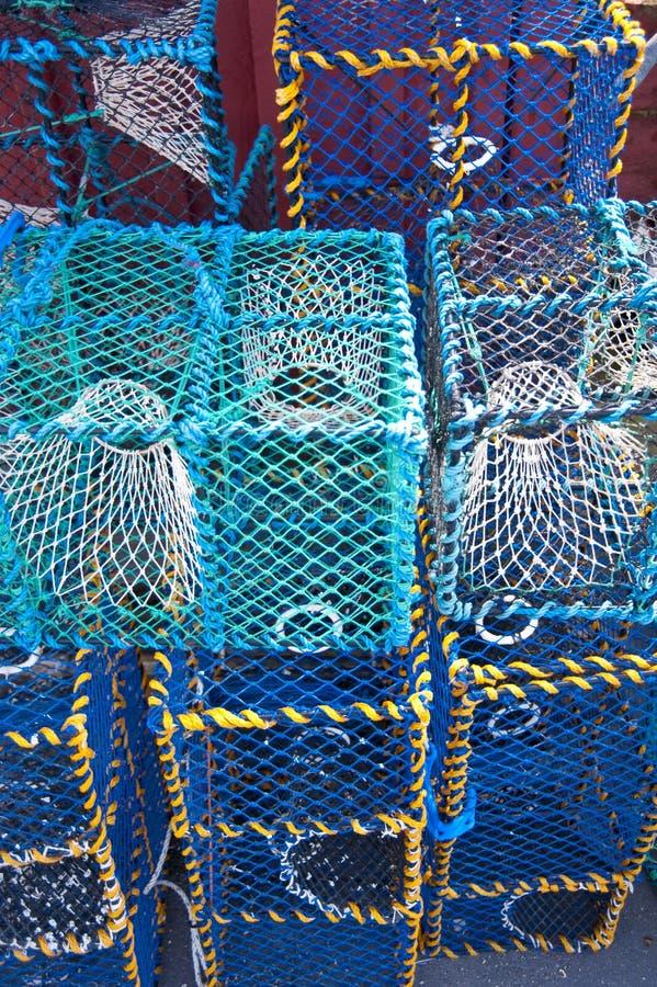 Pesca de trampas imágenes de archivo libres de regalías