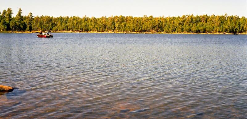 Pesca dei Boaters fotografie stock