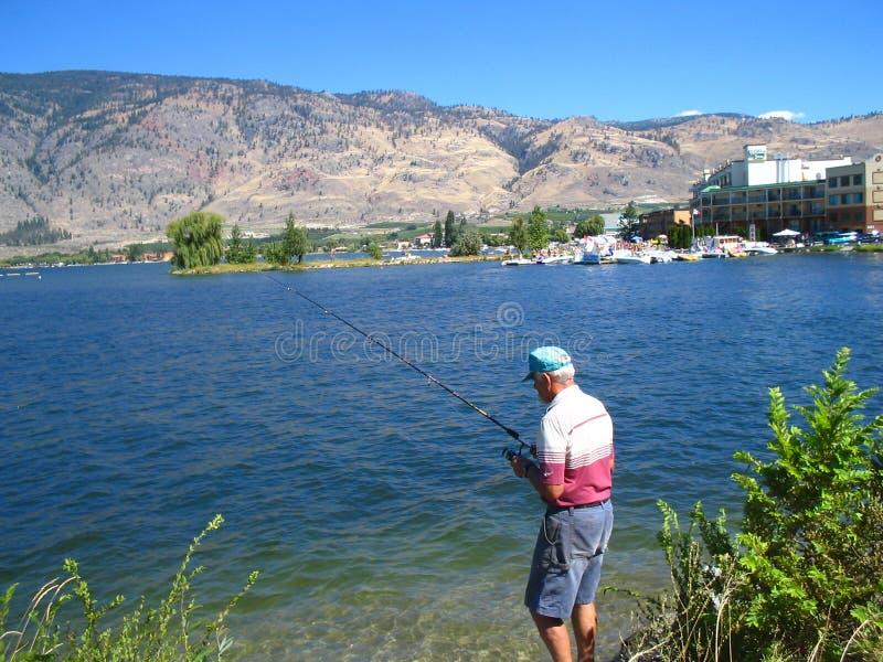Download Pesca Del Bordo Della Strada Immagine Stock - Immagine di concetti, canada: 208823