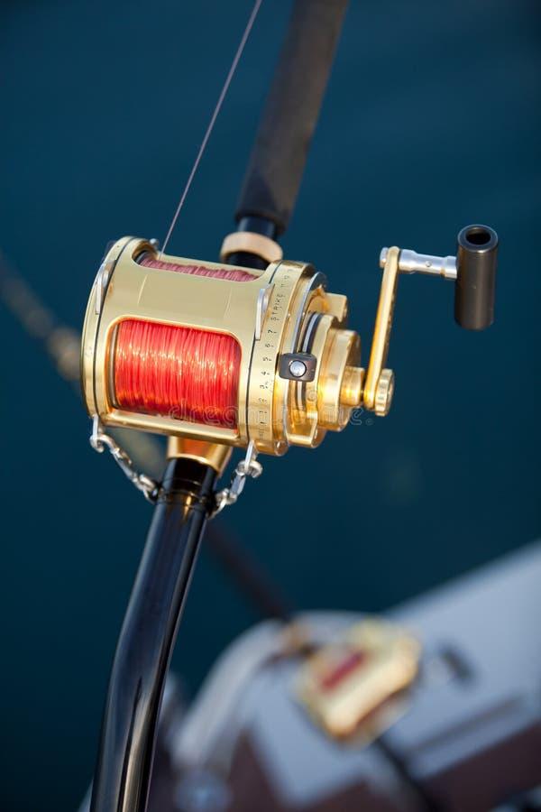 Pesca del gran gioco immagini stock