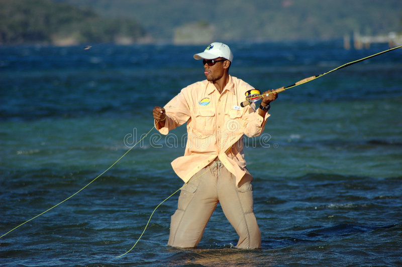 Pesca del hueso en Honduras