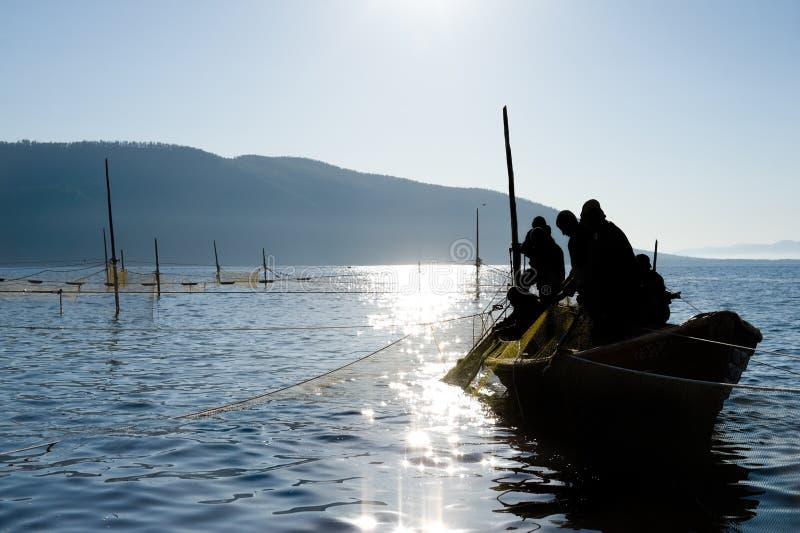 Pesca della presa immagini stock libere da diritti