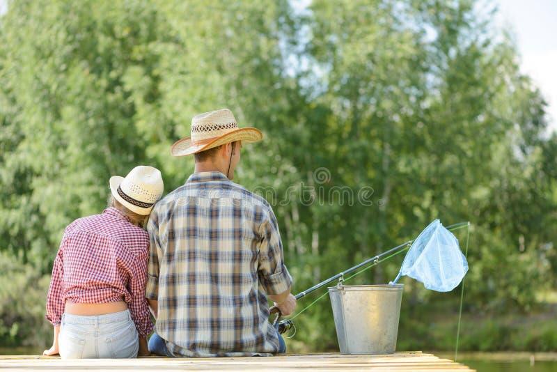 Pesca di estate immagine stock libera da diritti