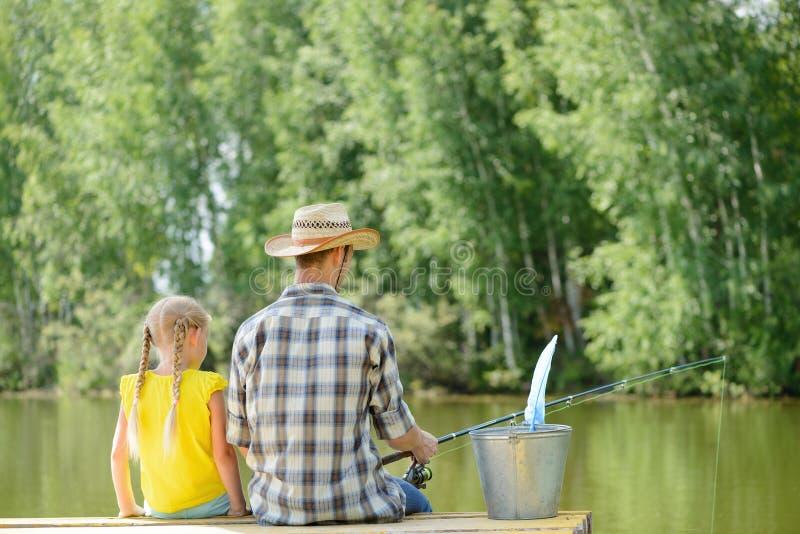 Pesca di estate fotografia stock libera da diritti