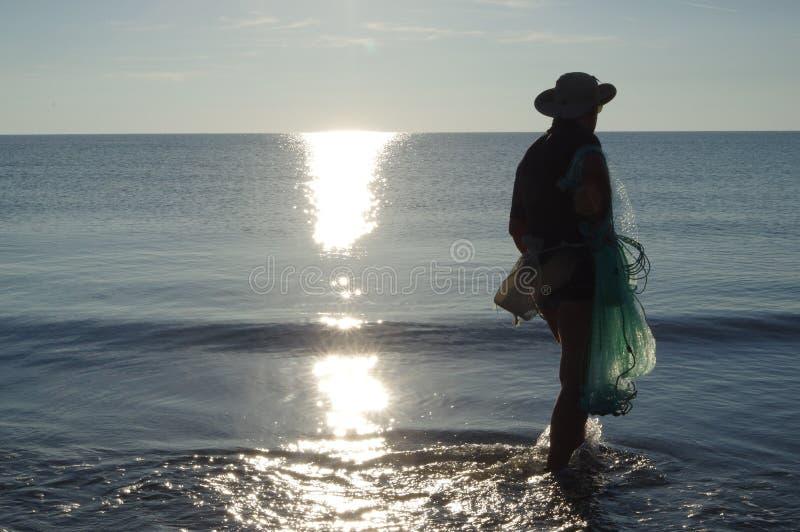 Pesca di Rezzaglio fotografia stock libera da diritti
