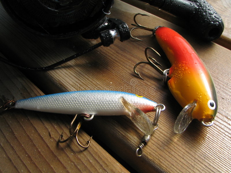 Pesca Di Rotazione Fotografia Stock