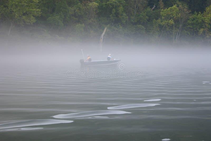 Pesca do barco fotos de stock