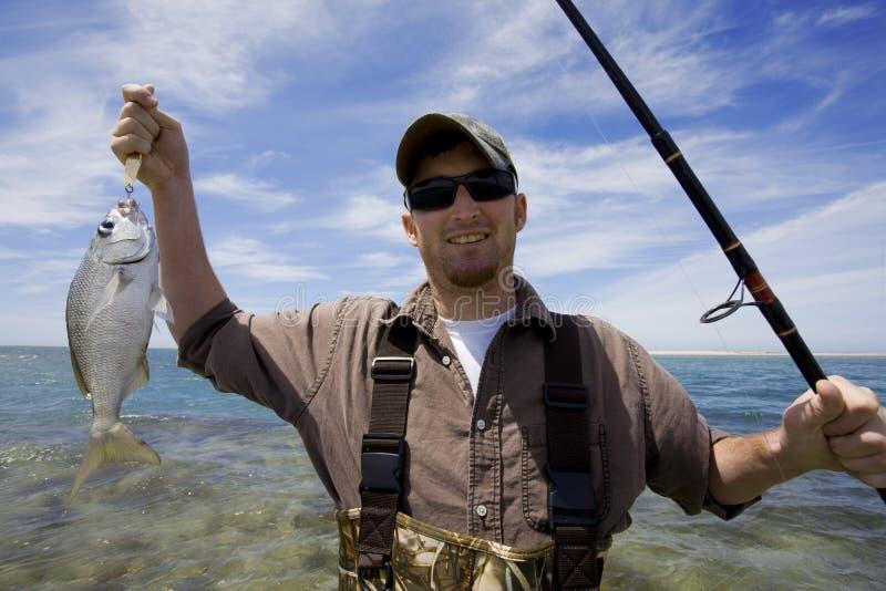 Pesca do oceano fotos de stock