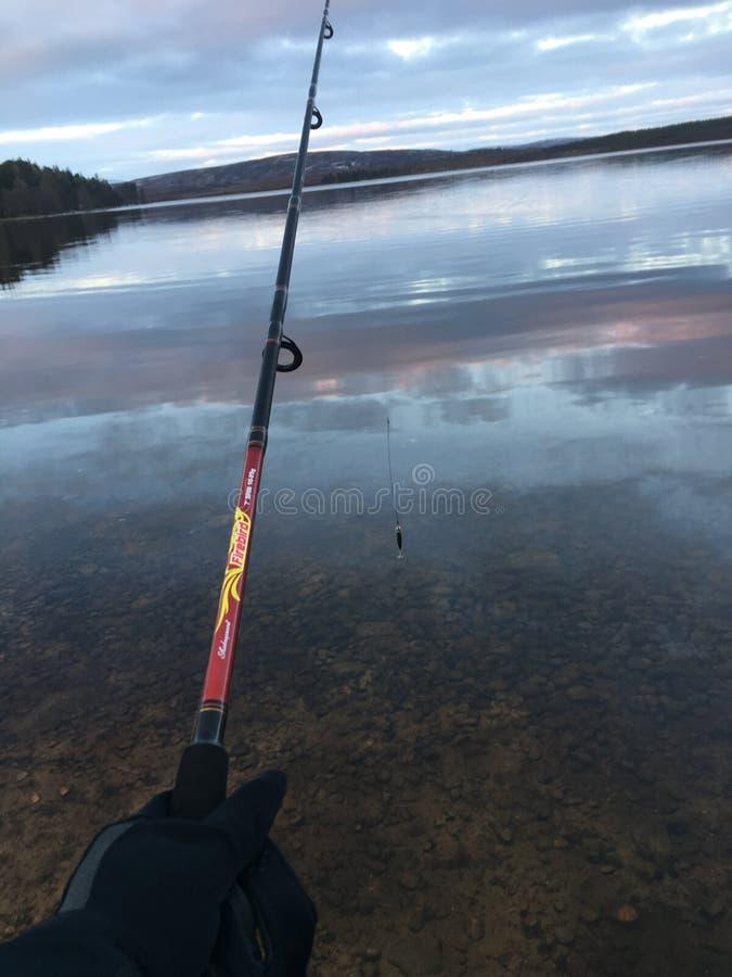 Pesca Escocia imagen de archivo